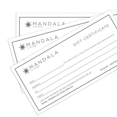 Mandala Living Gift Certificate