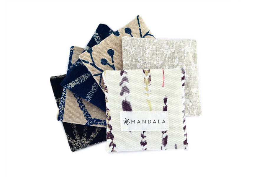 Mandala Lavendar squares