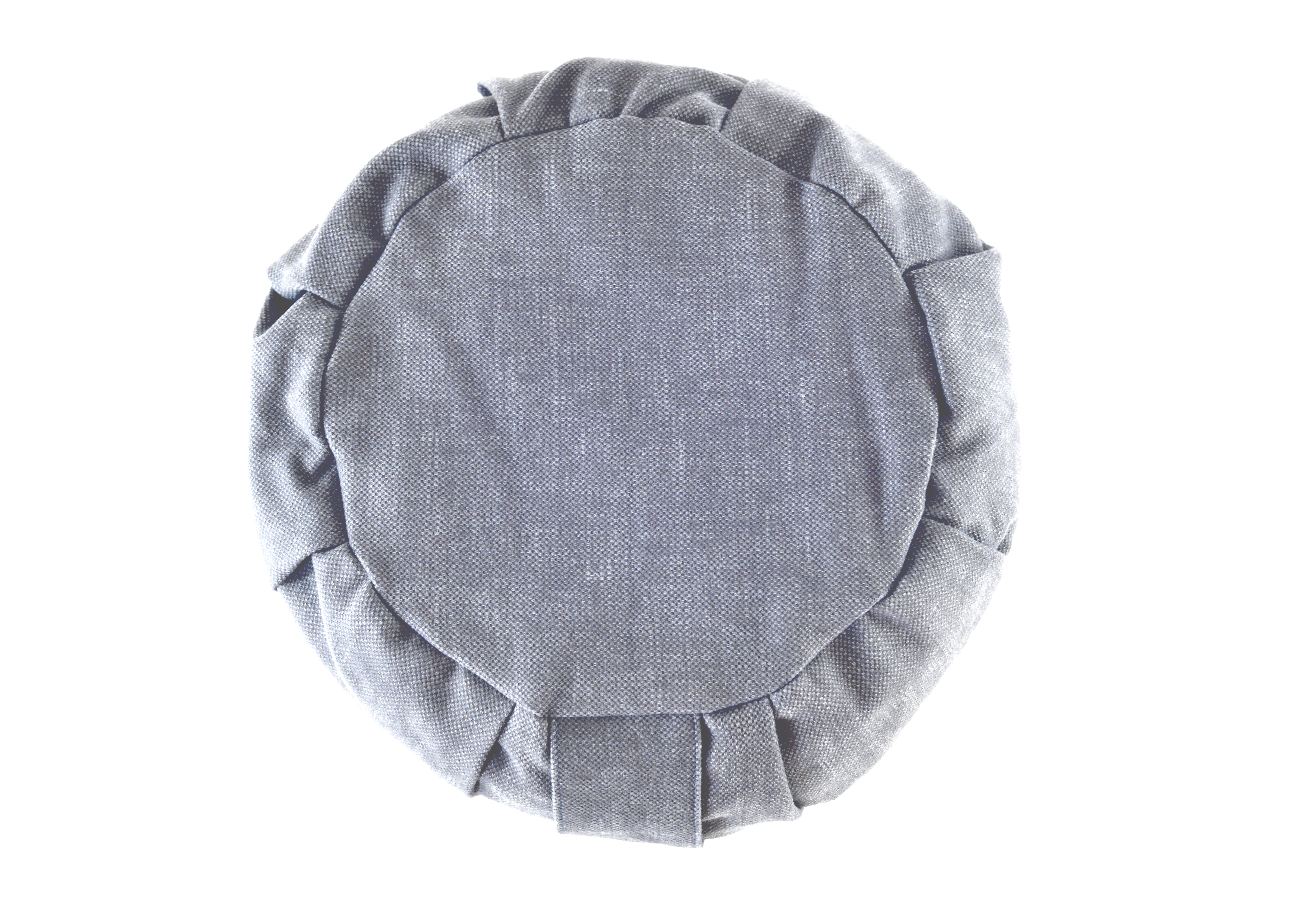 mini roundie linen/cotton charcoal