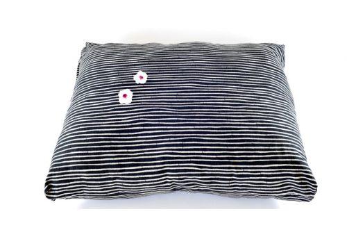 Mandala mega Rectangle Japanese Print Ebony Stripe