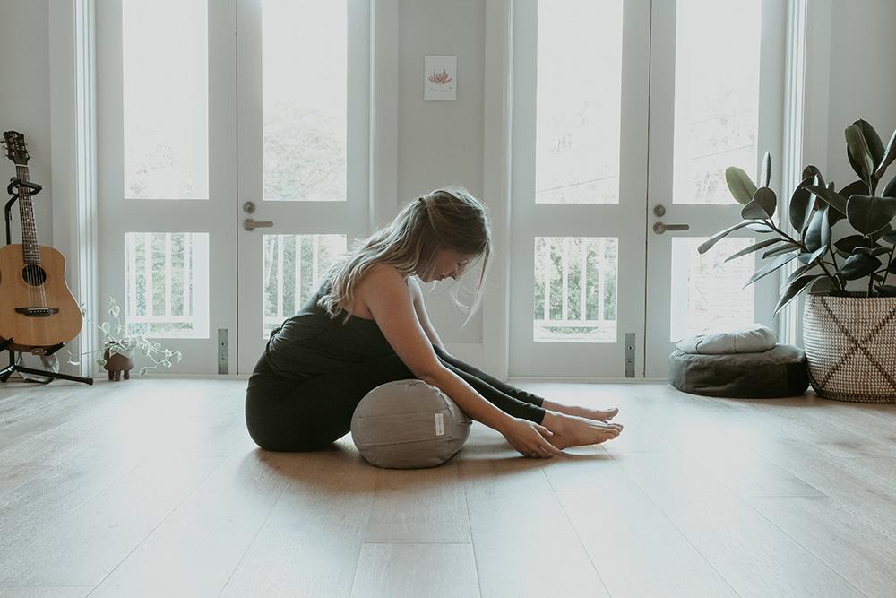 Mandala forward bend